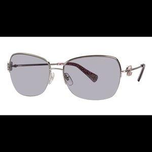 NWOT Coach Kylie Silver Sunglasses 🕶